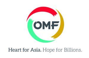 Logo und Motto von OMF International