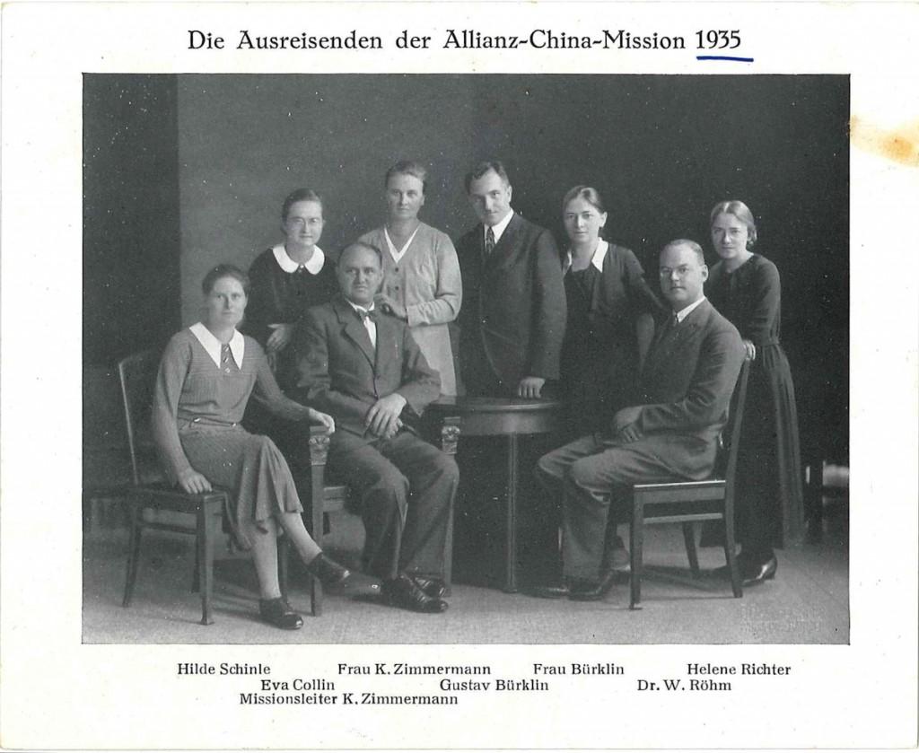 AM Missionare 1935