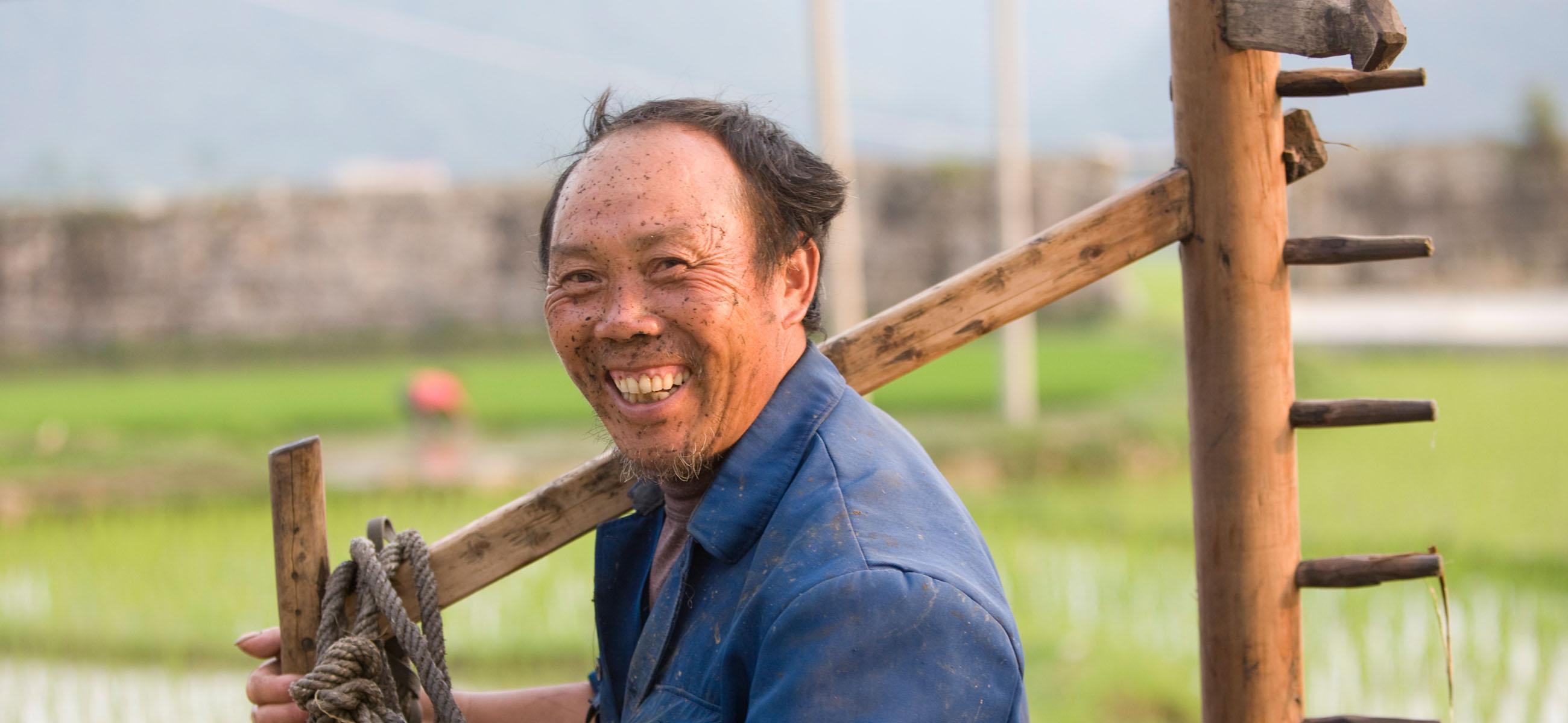 Chinesischer Bauer